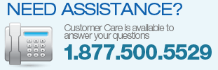 Need Assistance? Call us Toll Free 1.877.500.5529